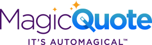 "MagicQuote logo with tagline ""It's Automagical"""