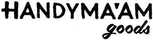 Handyma'am Goods logo
