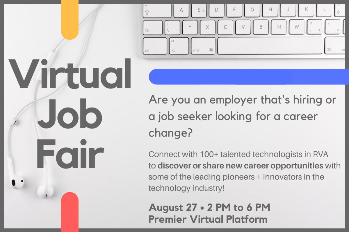 RVATech Virtual Job Fair graphic