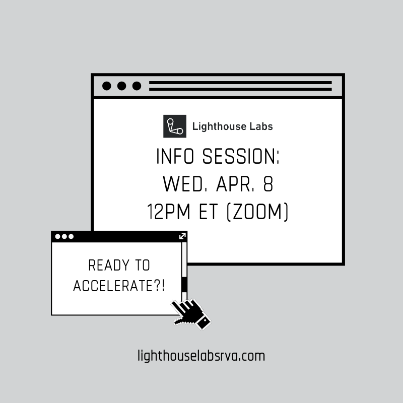 Lighthouse Info Session graphic