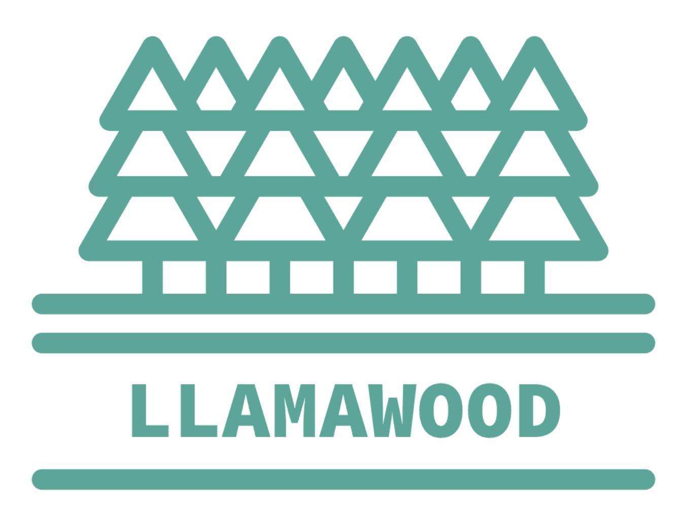 llamawood logo